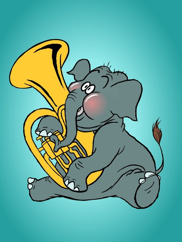 tuba_elephant_by_zevahcproductions-d46f92n